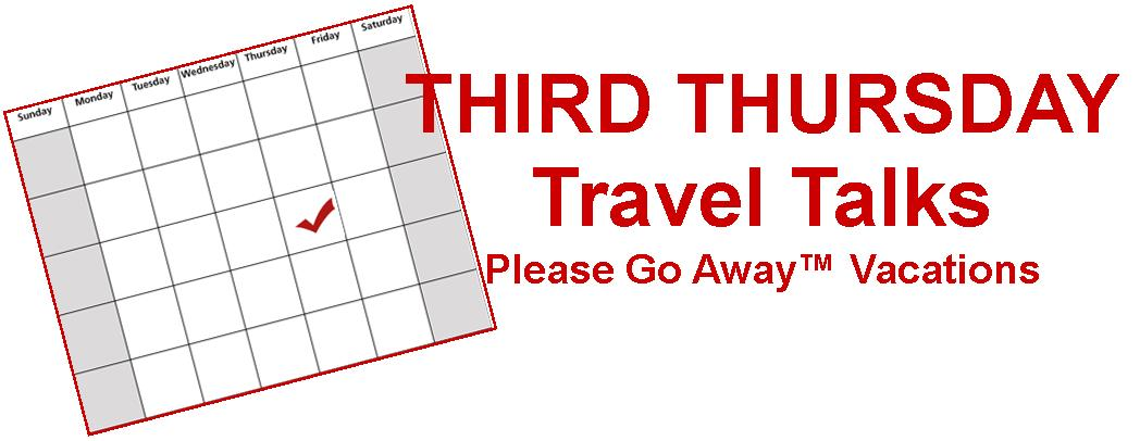 Third Thursday Travel Talks Logo